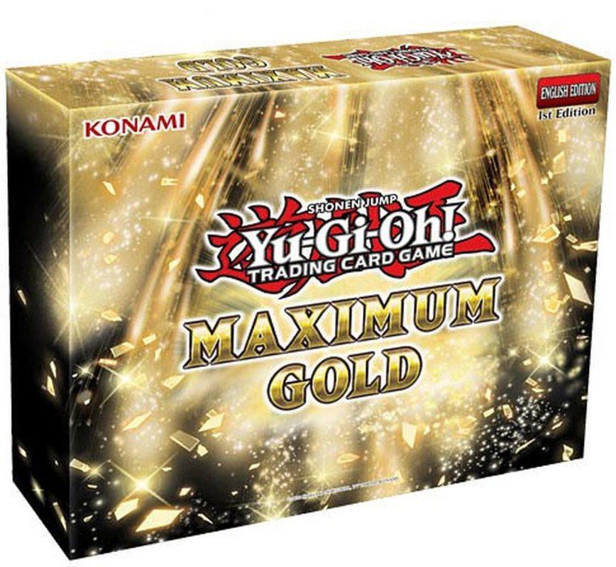 yugioh maximum gold