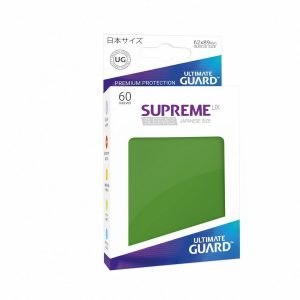 Supreme UX Sleeves Japanese Green 60-Count