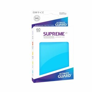 Supreme UX Sleeves Japanese Dark Light Blue 60-Count