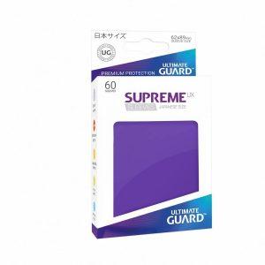 Supreme UX Sleeves Japanese Dark Purple 60-Count