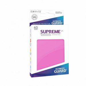 Supreme UX Sleeves Japanese Dark Pink 60-Count