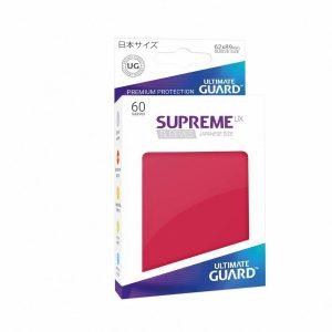 Supreme UX Sleeves Japanese Dark Red 60-Count