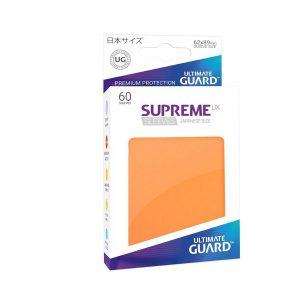 Supreme UX Sleeves Japanese Dark Orange 60-Count