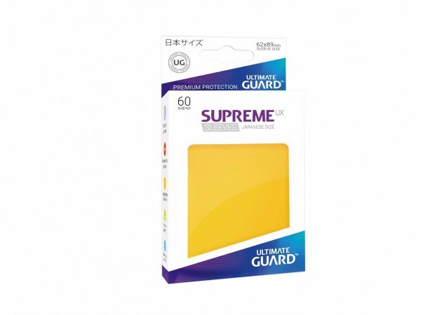 Supreme UX Sleeves Japanese Yellow 60-Count