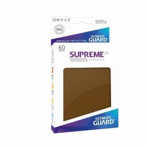 Supreme UX Sleeves Japanese Brown 60-Count