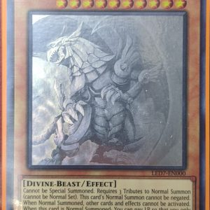The Winged Dragon of Ra (Ghost Rare)