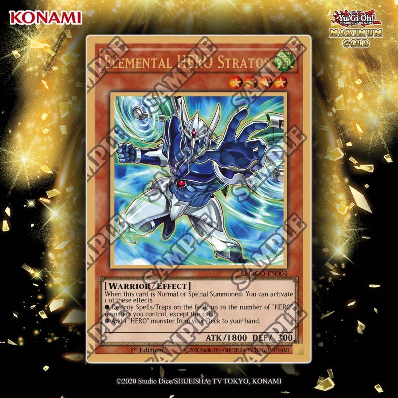 MAGO-EN004 Elemental HERO Stratos