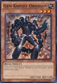 Gem-Knight Obsidian - AP08-EN020