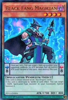 Black Fang Magician - PEVO-EN004
