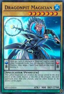 Dragonpit Magician - PEVO-EN014