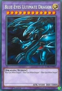 Blue-Eyes Ultimate Dragon - LCKC-EN057