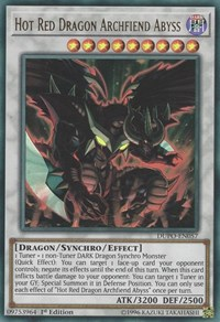 Hot Red Dragon Archfiend Abyss - DUPO-EN057