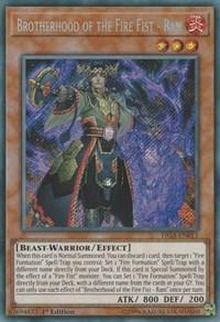 Brotherhood of the Fire Fist - Ram - FIGA-EN011