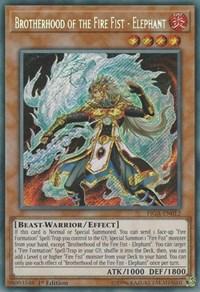 Brotherhood of the Fire Fist - Elephant - FIGA-EN012