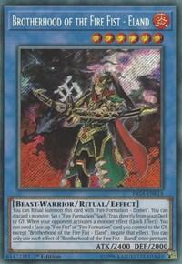 Brotherhood of the Fire Fist - Eland - FIGA-EN014