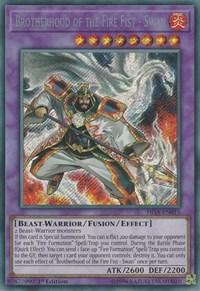 Brotherhood of the Fire Fist - Swan - FIGA-EN015