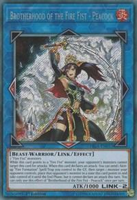 Brotherhood of the Fire Fist - Peacock - FIGA-EN017