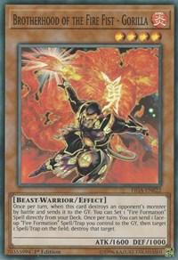 Brotherhood of the Fire Fist - Gorilla - FIGA-EN022