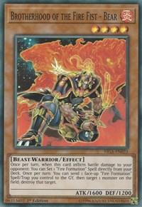 Brotherhood of the Fire Fist - Bear - FIGA-EN023