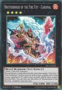 Brotherhood of the Fire Fist - Cardinal - FIGA-EN026