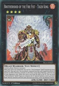 Brotherhood of the Fire Fist - Tiger King - FIGA-EN027