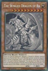 The Winged Dragon of Ra (Ghost Rare) - LED7-EN000