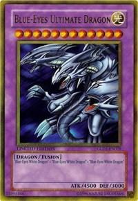 Blue-Eyes Ultimate Dragon - GLD1-EN028