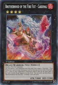Brotherhood of the Fire Fist - Cardinal - LTGY-EN054
