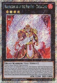 Brotherhood of the Fire Fist - Tiger King - CT11-EN001