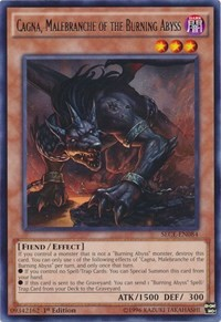 Cagna, Malebranche of the Burning Abyss - SECE-EN084