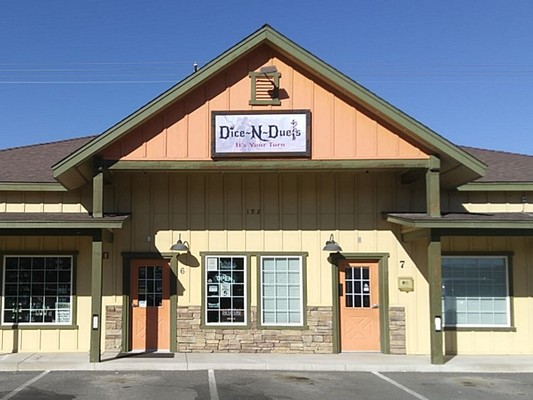 November's Featured Official Tournament Store is Dice-N-Duels in Fernley, Nevada...