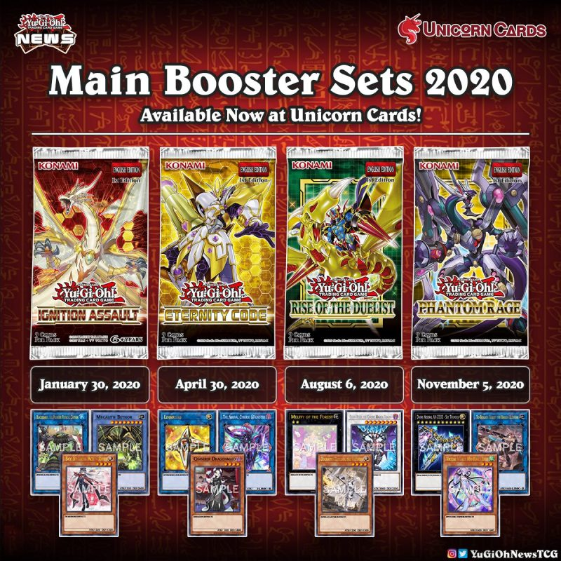 ❰𝗨𝗻𝗶𝗰𝗼𝗿𝗻 𝗖𝗮𝗿𝗱𝘀❱ In 2020 we had 4 Main #YuGiOh Sets that came out in the TCG. Whi...