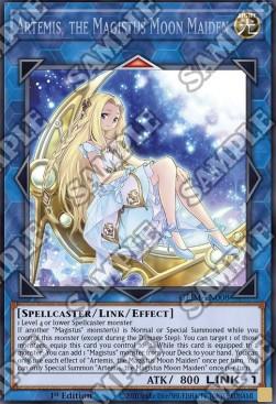 Artemis, the Magistus Moon Maiden (CR) - GEIM-EN008