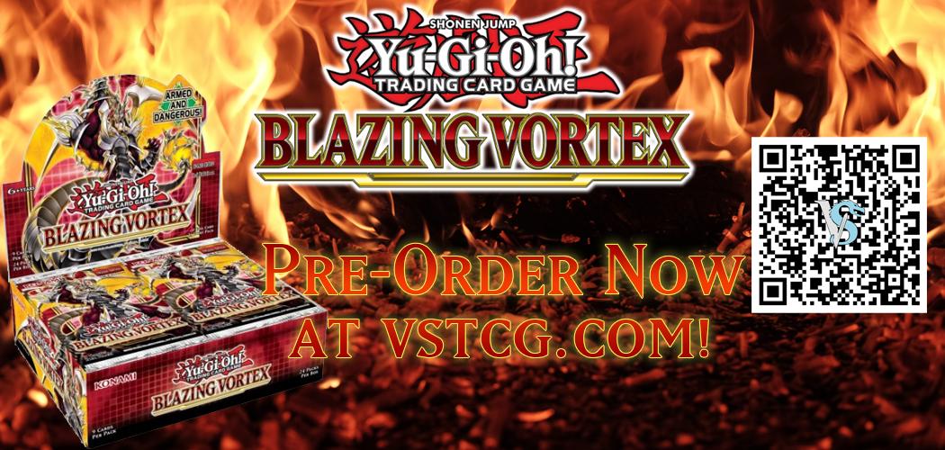 Yugioh Blazing Vortex Booster Box