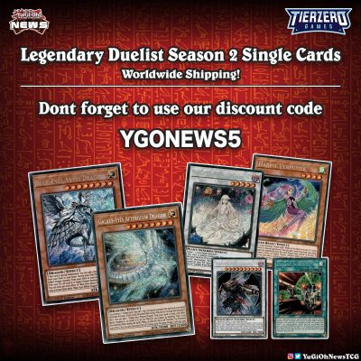 ❰𝗧𝗜𝗘𝗥𝗭𝗘𝗥𝗢❱ #YuGiOh Legendary Duelists Season 2 Singles now online, more will be ...