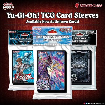 ❰𝗨𝗻𝗶𝗰𝗼𝗿𝗻 𝗖𝗮𝗿𝗱𝘀❱ During the years konami have made different types of Card Sleeve...