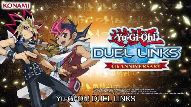 Announcing the start of the 4th Anniversary @YGO_DL_Official event! Log in and c...