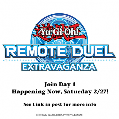 The #YuGiOhTCG #RemoteDuel Extravaganza is happening today! Find out how you can...