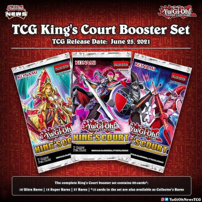 """❰𝗞𝗶𝗻𝗴'𝘀 𝗖𝗼𝘂𝗿𝘁❱ Are you ready to see a better image of the """"King's Court"""" Booster..."""