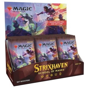 Magic: The Gathering - Strixhaven: School of Mages Set Booster