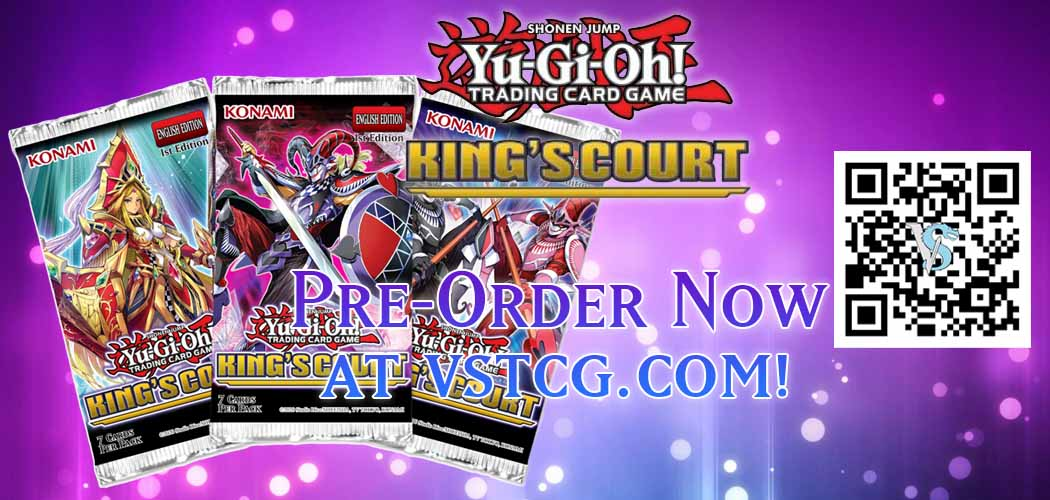Yugioh Kings Court Booster Box