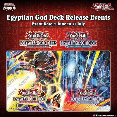 """❰𝗘𝗴𝘆𝗽𝘁𝗶𝗮𝗻 𝗚𝗼𝗱 𝗗𝗲𝗰𝗸❱ To celebrate the upcoming release of """"Egyptian God Deck"""" Off..."""