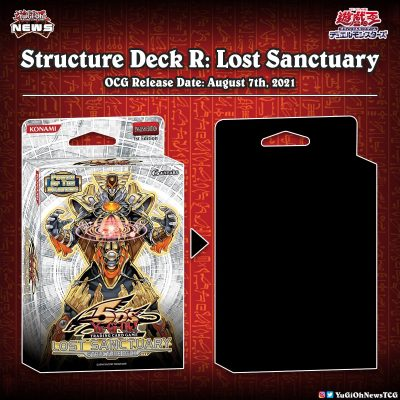 """❰𝗦𝘁𝗿𝘂𝗰𝘁𝘂𝗿𝗲 𝗗𝗲𝗰𝗸 𝗥: 𝗟𝗼𝘀𝘁 𝗦𝗮𝗻𝗰𝘁𝘂𝗮𝗿𝘆❱  A new """"Structure Deck R"""" has been announced ..."""