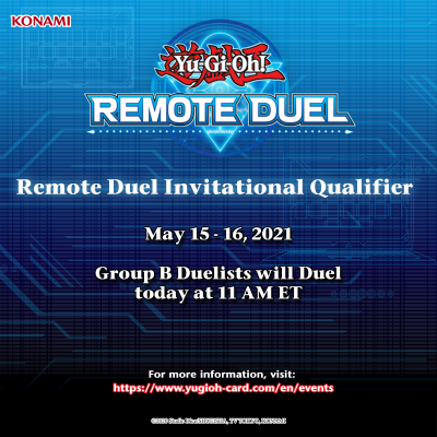 Invited Duelists! Group B of the #YuGiOhTCG #RemoteDuel Invitational Qualifier w...