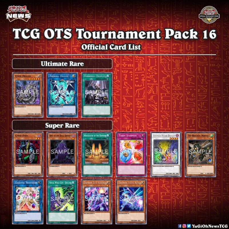 ❰𝗢𝗧𝗦 𝗧𝗢𝗨𝗥𝗡𝗔𝗠𝗘𝗡𝗧 𝗣𝗔𝗖𝗞 16❱ Level up your game in 2021 with OTS Tournament Pack 16 ...