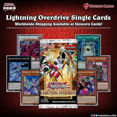 ❰𝗨𝗻𝗶𝗰𝗼𝗿𝗻 𝗖𝗮𝗿𝗱𝘀❱ Single cards from Lightning Overdrive are now available on @Unic...