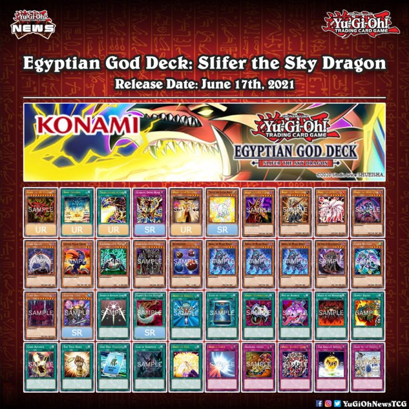 ❰𝗘𝗴𝘆𝗽𝘁𝗶𝗮𝗻 𝗚𝗼𝗱 𝗗𝗲𝗰𝗸𝘀❱ Here is the full card list of the upcoming Egyptian God Dec...
