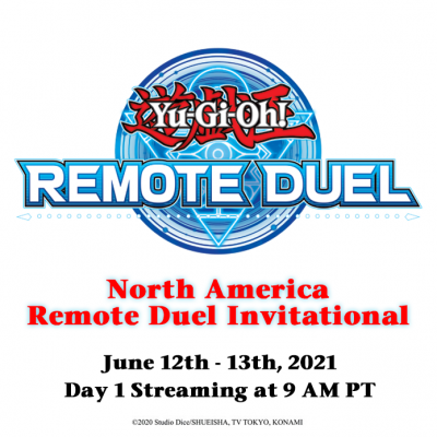 Don't miss out on the #YuGiOhTCG #Remote Duel Invitational action and tune in to...