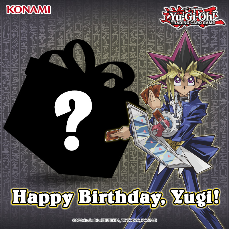 It's Yugi's Birthday and the final day of Yugi's Birthday Giveaway! Like this po...