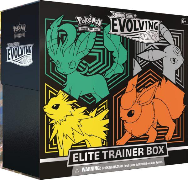 Pokemon SS7 Evolving Skies Elite Trainer Box